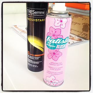 dry shampp p