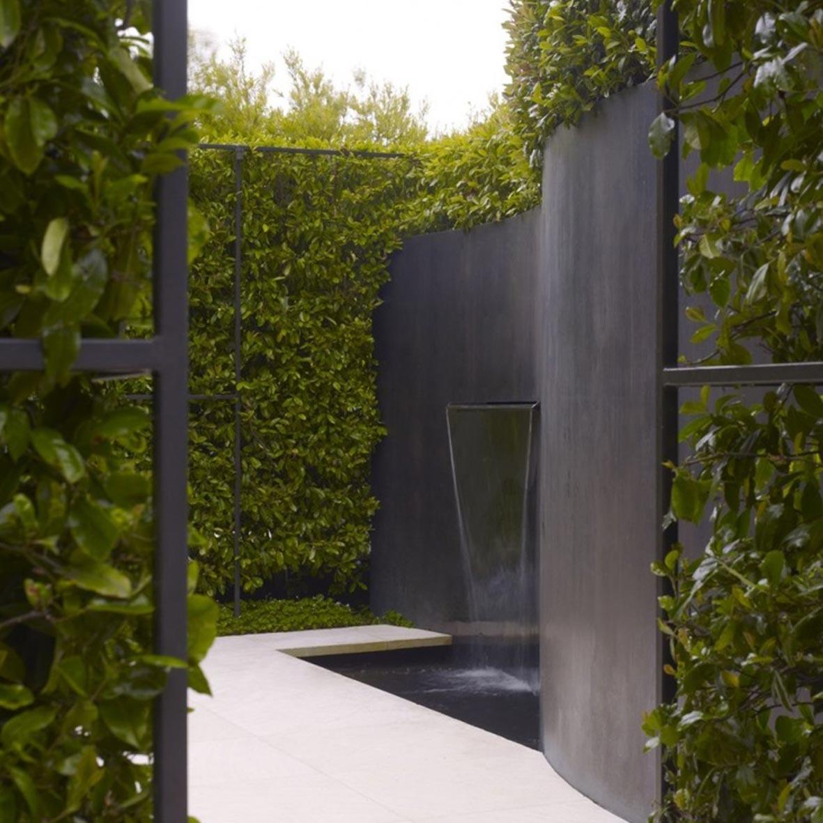 Modern Landscape Plan Style Plants Courtyard Design