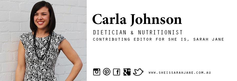 sarah jane young, sheissarahjane, dietician, nutritionist, lifestyle blogger