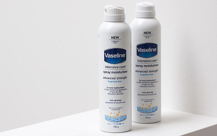 Vaseline Intensive Care Spray Moisturiser Advanced Strength, Vaseline, Vaseline Australia, skincare, pregnancy skincare, sarah jane young, sheissarahjane, beauty blogger, Vaseline review