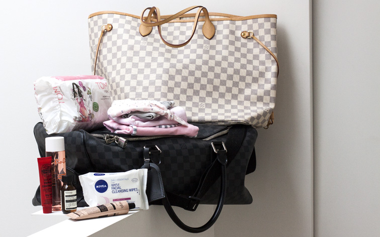 PREGNANCY: MY BAGS ARE PACKED, BUT WHAT'S IN THEM?
