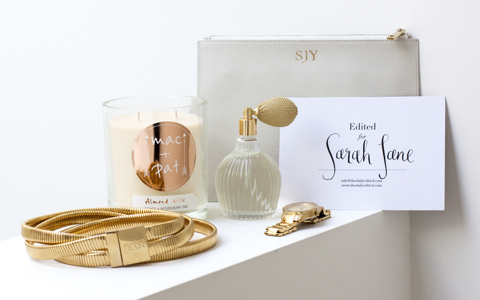 THE DAILY EDITED, ELIZABETH JEAN, SARAH JANE YOUNG, SHEISSARAHJANE, MOTHER'S DAY 2015, MOTHER'S DAY GIFT IDEAS, CRABTREE AND EVELYN, MAC & PAC CANDLES, THOMAS SABO