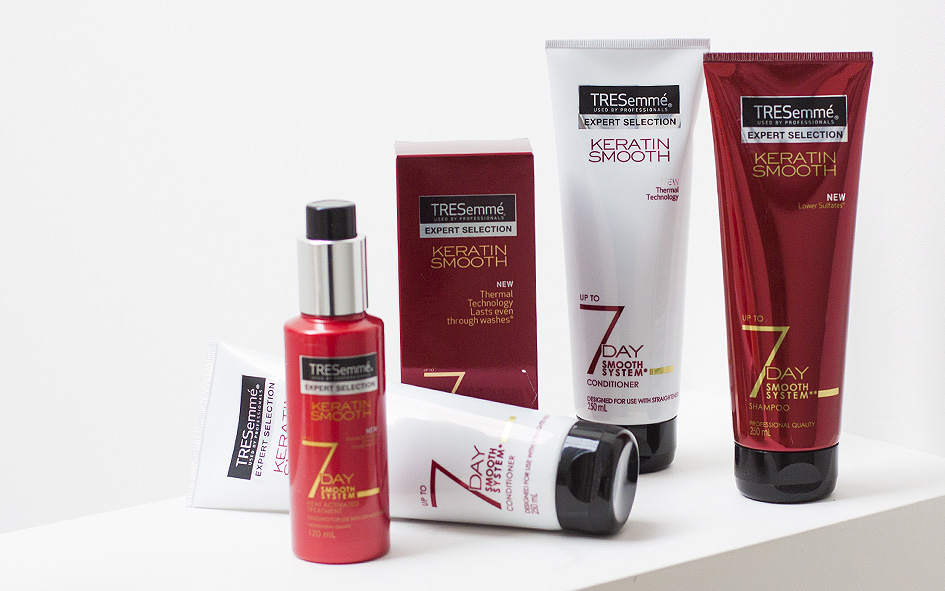 tresemme, hair care, Keratin, sarah jane young, sheissarahjane, beauty review, 7 day keratin smooth shampoo,