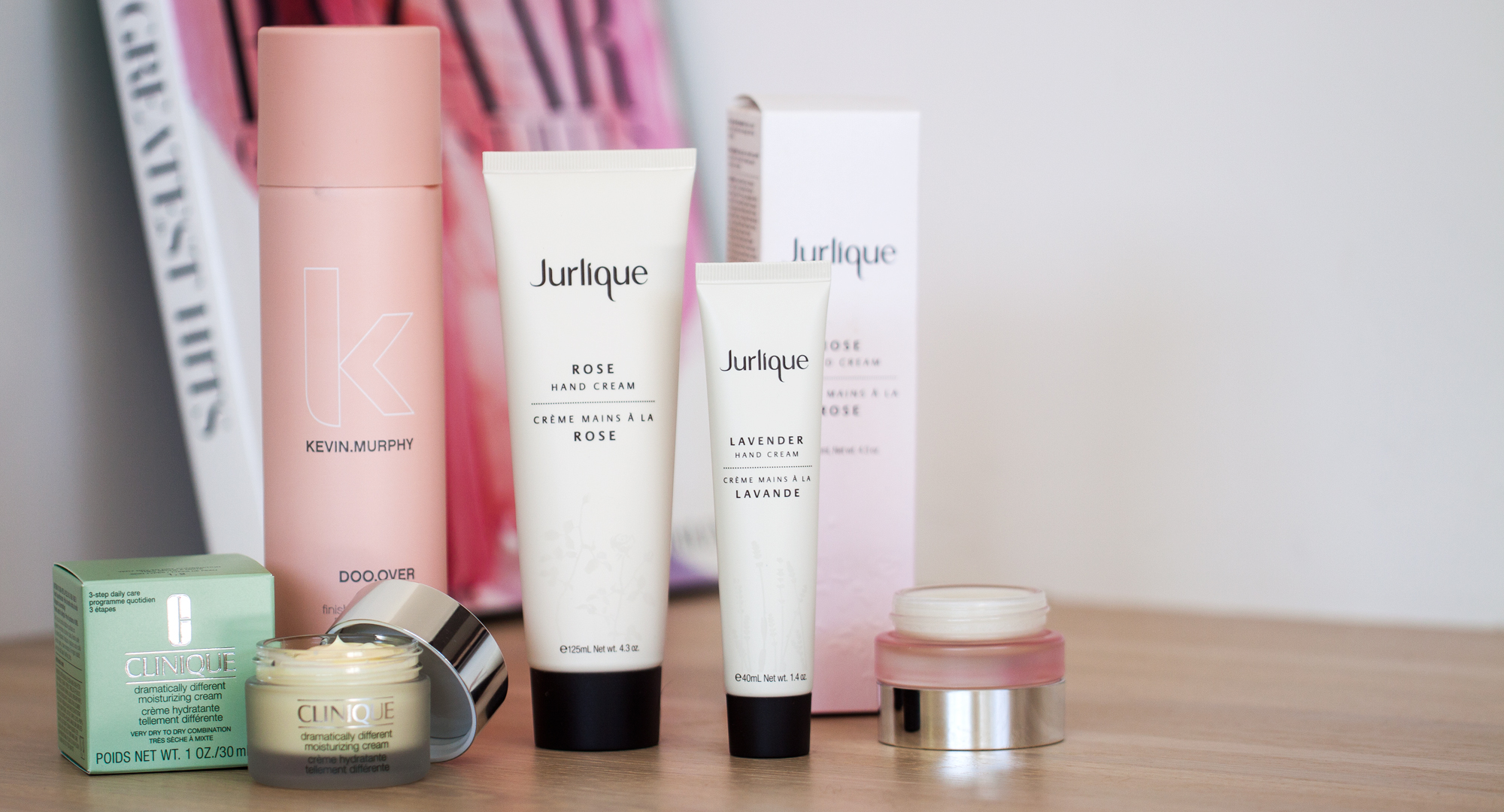 kevin murphy, doo over, dry powder, finishing hairspray, jurlique, rose hand cream, clinique, sarah jane young, beauty blogger, beauty review