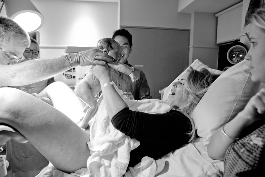 sarah jane young, St Vincent's Private Hospital, Dr Lionel Steinberg, mummy blogger, birth photography, Kelly Jordan Photography