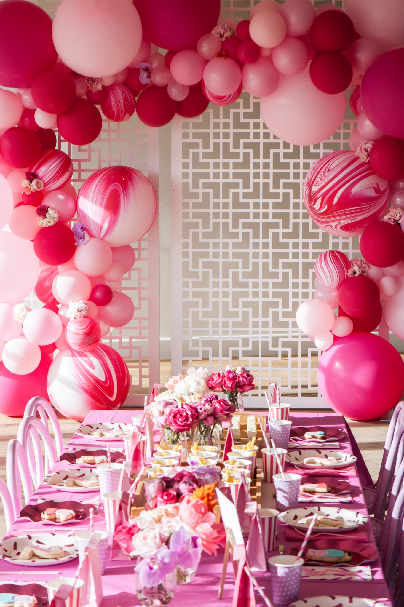 SARAH JANE YOUNG, MG TURNS TWO, BOUTIQUE BALLOONS MELBOURNE, GREENFIELDS, GREENFIELDS ALBERT PARK, ATLANTIC GROUP, MARY MARY STUDIO, LITTLE BIG LETTER CO, STYLING, PINK STYLING, SARAH JANE YOUNG, SHEISSARAHJANE