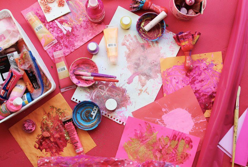 sarah jane young, sheissarahjane, mummy blogger, DIY crafts, art and craft, messy play, kids paints, melbourne mummy blogger, glitter, safe kids paint